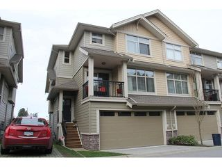 "Photo 1: 70 22225 50TH Avenue in Langley: Murrayville Townhouse for sale in ""Murray's Landing"" : MLS®# F1434477"