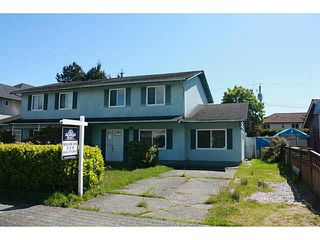 Main Photo: 3600 BLUNDELL Road in Richmond: Seafair House 1/2 Duplex for sale : MLS®# V1121014