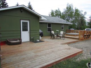 "Photo 1: 12781 OLD HOPE Road: Charlie Lake House for sale in ""CHARLIE LAKE"" (Fort St. John (Zone 60))  : MLS®# R2043655"