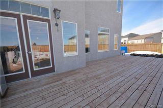 Photo 19: 99 Dragonfly Court in Winnipeg: Sage Creek Residential for sale (2K)  : MLS®# 1806518