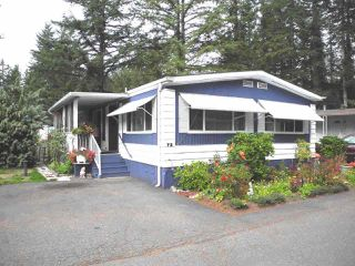 "Photo 1: 72 20071 24 Avenue in Langley: Brookswood Langley Manufactured Home for sale in ""FERNRIDGE MOBILE HOME PARK"" : MLS®# R2288138"