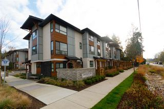 "Main Photo: 78 8508 204 Street in Langley: Willoughby Heights Townhouse for sale in ""ZETTER PLACE"" : MLS®# R2320645"
