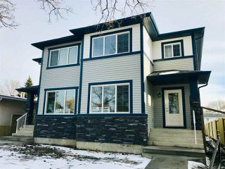 Main Photo: 10311 152 Street in Edmonton: Zone 21 House Half Duplex for sale : MLS®# E4136135