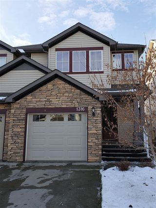 Main Photo: 1316 60 Street in Edmonton: Zone 53 House Half Duplex for sale : MLS®# E4138341