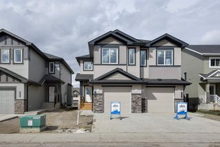 Photo 1: 8565 CUSHING Place in Edmonton: Zone 55 House Half Duplex for sale : MLS®# E4151853
