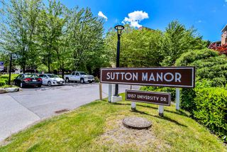 "Main Photo: 204 10157 UNIVERSITY Drive in Surrey: Whalley Condo for sale in ""Sutton Manor"" (North Surrey)  : MLS®# R2376771"
