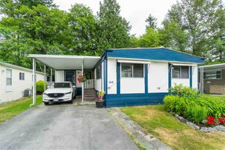 "Main Photo: 144 7790 KING GEORGE Highway in Surrey: East Newton Manufactured Home for sale in ""Crispen Bays Community"" : MLS®# R2383177"