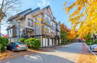 "Photo 1: 23 19448 68 Avenue in Surrey: Clayton Townhouse for sale in ""NUOVO"" (Cloverdale)  : MLS®# R2413880"