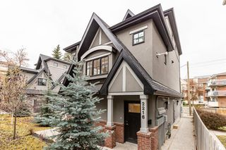 Main Photo: 2216 30 Street SW in Calgary: Killarney/Glengarry Row/Townhouse for sale : MLS®# A1048013