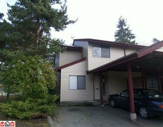 Photo 1: 1 13990 74 Avenue in Surrey: East Newton Townhouse for sale : MLS®# F1000681