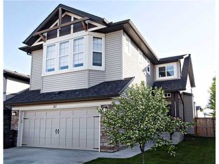 Photo 1: 87 BRIGHTONSTONE Passage SE in CALGARY: New Brighton Residential Detached Single Family for sale (Calgary)  : MLS®# C3620487