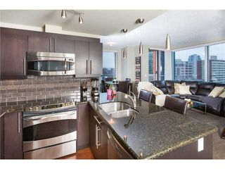 Photo 3: 1007 817 15 Avenue SW in Calgary: Connaught Condo for sale : MLS®# C3637228