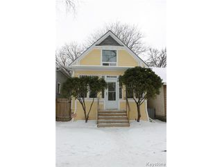Main Photo: 612 Lipton Street in WINNIPEG: West End / Wolseley Residential for sale (West Winnipeg)  : MLS®# 1429204