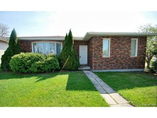 Photo 1: 132 Tu-pelo Avenue in WINNIPEG: East Kildonan Residential for sale (North East Winnipeg)  : MLS®# 1512372
