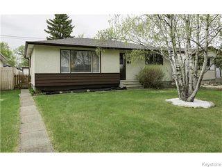 Main Photo: 334 Southall Drive in Winnipeg: West Kildonan / Garden City Residential for sale (North West Winnipeg)  : MLS®# 1612275