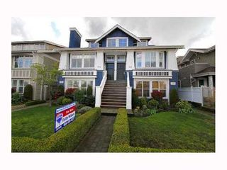 Photo 1: 166 16TH Ave: Cambie Home for sale ()  : MLS®# V815213