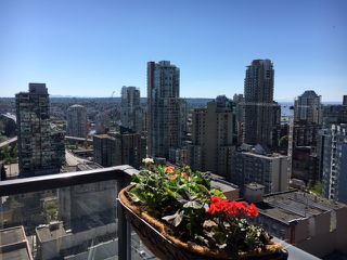 """Photo 1: 2401 1199 SEYMOUR Street in Vancouver: Downtown VW Condo for sale in """"Brava"""" (Vancouver West)  : MLS®# R2107158"""