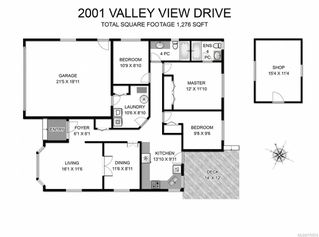 Photo 9: 2001 VALLEY VIEW DRIVE in COURTENAY: CV Courtenay East House for sale (Comox Valley)  : MLS®# 770574