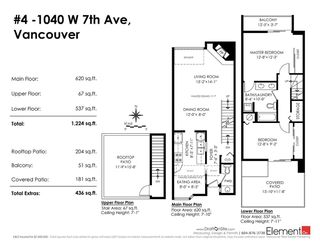 Photo 11: 4 1040 W 7TH Avenue in Vancouver: Fairview VW Condo for sale (Vancouver West)  : MLS®# R2217986