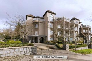 "Photo 1: 508 1128 SIXTH Avenue in New Westminster: Uptown NW Condo for sale in ""Kingsgate"" : MLS®# R2230394"