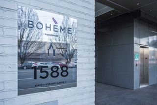 "Photo 19: 412 1588 E HASTINGS Street in Vancouver: Hastings Condo for sale in ""Boheme"" (Vancouver East)  : MLS®# R2239215"
