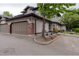 """Photo 1: 16 36060 OLD YALE Road in Abbotsford: Abbotsford East Townhouse for sale in """"Mountain View Village"""" : MLS®# R2269722"""