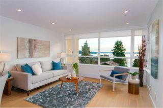 "Main Photo: 602 2203 BELLEVUE Avenue in West Vancouver: Dundarave Condo for sale in ""Bellevue Place"" : MLS®# R2334296"