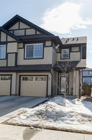 Photo 2: 2424 CASSIDY Way in Edmonton: Zone 55 House Half Duplex for sale : MLS®# E4150942