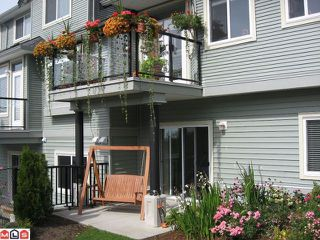 "Photo 14: 37 36260 MCKEE Road in Abbotsford: Abbotsford East Townhouse for sale in ""KING'S GATE"" : MLS®# F1105306"