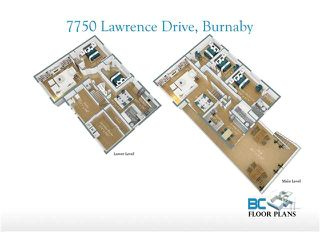 Photo 10: 7750 LAWRENCE Drive in Burnaby: Montecito House for sale (Burnaby North)  : MLS®# V878314