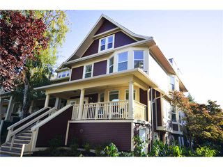 "Photo 1: 1562 COMOX Street in Vancouver: West End VW Townhouse for sale in ""C & C"" (Vancouver West)  : MLS®# V908972"