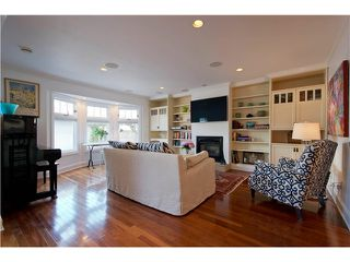 Photo 6: 1823 CREELMAN Avenue in Vancouver: Kitsilano House 1/2 Duplex for sale (Vancouver West)  : MLS®# V1061088