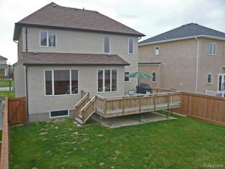 Photo 16: 6 Kingfisher Crescent in Winnipeg: Residential for sale : MLS®# 1414039
