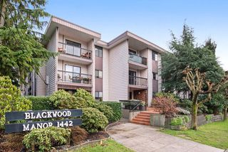 """Photo 1: 215 1442 BLACKWOOD Street: White Rock Condo for sale in """"BLACKWOOD MANOR"""" (South Surrey White Rock)  : MLS®# R2026649"""