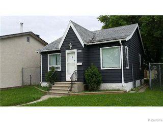 Photo 1: 1079 Valour Road in Winnipeg: West End / Wolseley Residential for sale (West Winnipeg)  : MLS®# 1618701