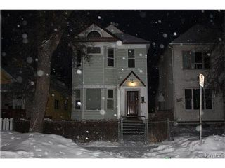Photo 1: 634 Toronto Street in Winnipeg: Residential for sale (5A)  : MLS®# 1702334