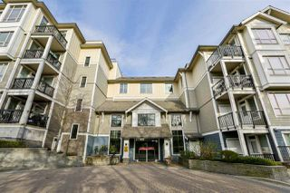 """Photo 1: 225 13897 FRASER Highway in Surrey: Whalley Condo for sale in """"EDGE"""" (North Surrey)  : MLS®# R2252364"""