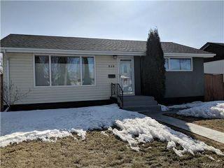Photo 1: 828 Simpson Avenue in Winnipeg: East Kildonan Residential for sale (3B)  : MLS®# 1808058