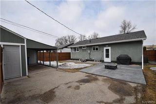 Photo 17: 828 Simpson Avenue in Winnipeg: East Kildonan Residential for sale (3B)  : MLS®# 1808058