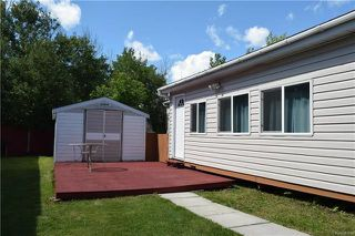 Photo 18: 4 DELTA Crescent in St Clements: Pineridge Trailer Park Residential for sale (R02)  : MLS®# 1818018