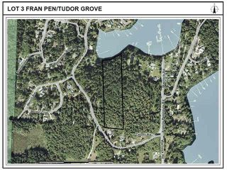 "Photo 2: TUDOR GROVE ROAD in Pender Harbour: Pender Harbour Egmont Land for sale in ""FRANCIS PENINSULA AREA"" (Sunshine Coast)  : MLS®# R2286854"