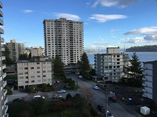 "Photo 1: 801 2135 ARGYLE Avenue in West Vancouver: Dundarave Condo for sale in ""THE CRESCENT"" : MLS®# R2320802"