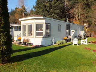 "Photo 1: 10 65367 KAWKAWA  LAKE Road in Hope: Hope Kawkawa Lake Manufactured Home for sale in ""CRYSTAL RIVER COURT"" : MLS®# R2321483"