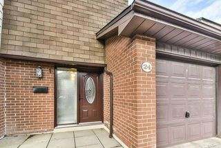 Main Photo: 24 600 Silver Creek Boulevard in Mississauga: Mississauga Valleys Condo for sale : MLS®# W4337046