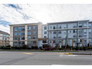 """Main Photo: 435 13728 108 Avenue in Surrey: Whalley Condo for sale in """"QUATRO"""" (North Surrey)  : MLS®# R2363730"""