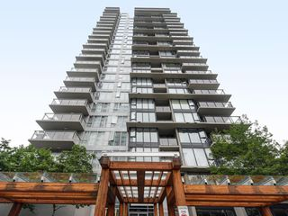 "Photo 1: 802 651 NOOTKA Way in Port Moody: Port Moody Centre Condo for sale in ""Sahalee"" : MLS®# R2386023"