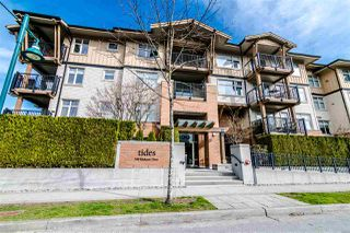 "Photo 1: 201 500 KLAHANIE Drive in Port Moody: Port Moody Centre Condo for sale in ""TIDES"" : MLS®# R2387501"