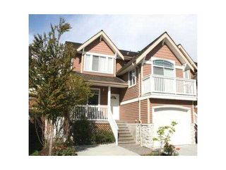 "Photo 1: 18 1506 EAGLE MOUNTAIN Drive in Coquitlam: Westwood Plateau Townhouse for sale in ""RIVER ROCK"" : MLS®# V884983"