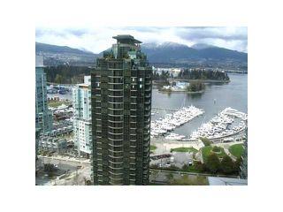 "Photo 1: 2605 1331 W GEORGIA Street in Vancouver: Coal Harbour Condo for sale in ""THE POINTE"" (Vancouver West)  : MLS®# V891427"