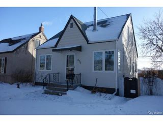 Photo 1: 801 Clifton Street in WINNIPEG: West End / Wolseley Residential for sale (West Winnipeg)  : MLS®# 1504351